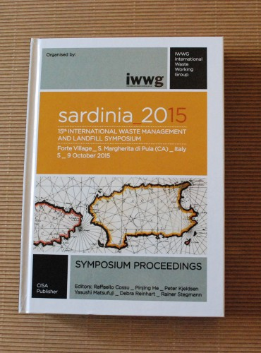 Sardinia 2015 <br/>15th International Waste Management and Landfill Symposium (Book+CD)