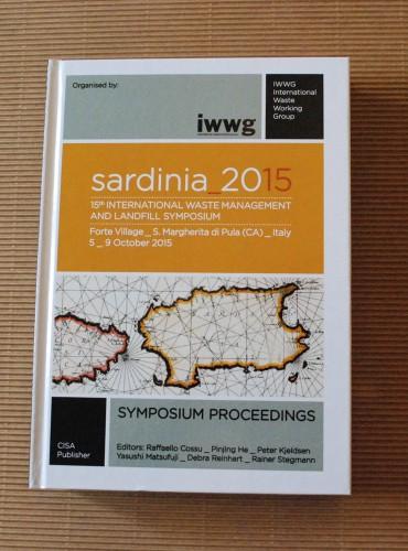 Sardinia 2015 <br/>15th International Waste Management and Landfill Symposium (Book+CD)
