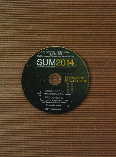 SUM2014 <br/> 2nd Symposium on Urban Mining