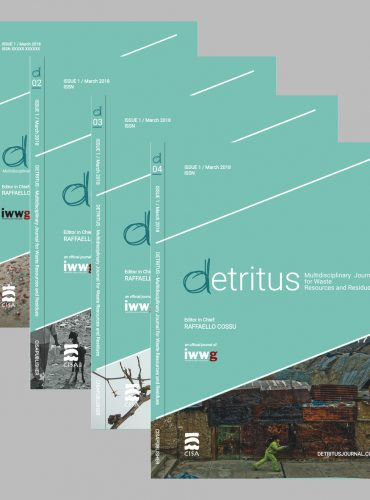 Detritus Journal <br> Annual subscription (4 volumes)