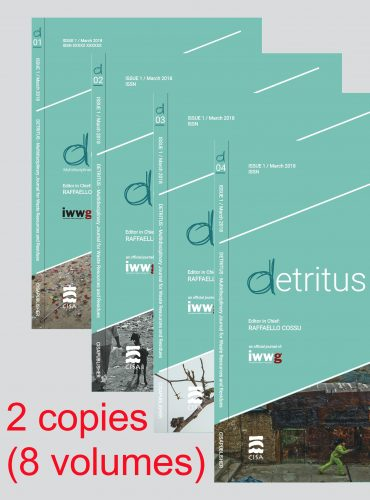 Detritus Journal<br>Annual subscription (corporate bodies)