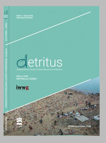 Detritus Journal<br>Individual volume (Colour printing)