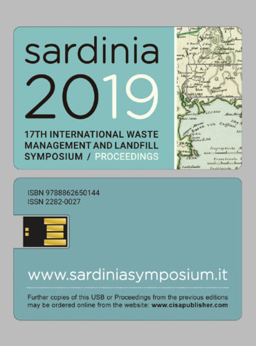 Proceedings Sardinia 2019 <br> 17th International Waste Management and Landfill Symposium