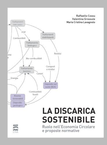 La discarica sostenibile. <br>Ruolo nell'Economia Circolare e proposte normative </br>